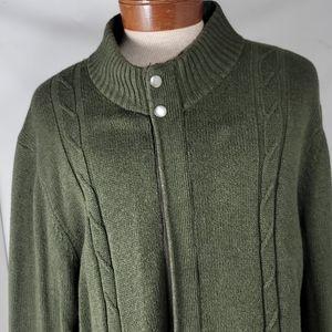 Tasso Elba Knitted Jacket Large